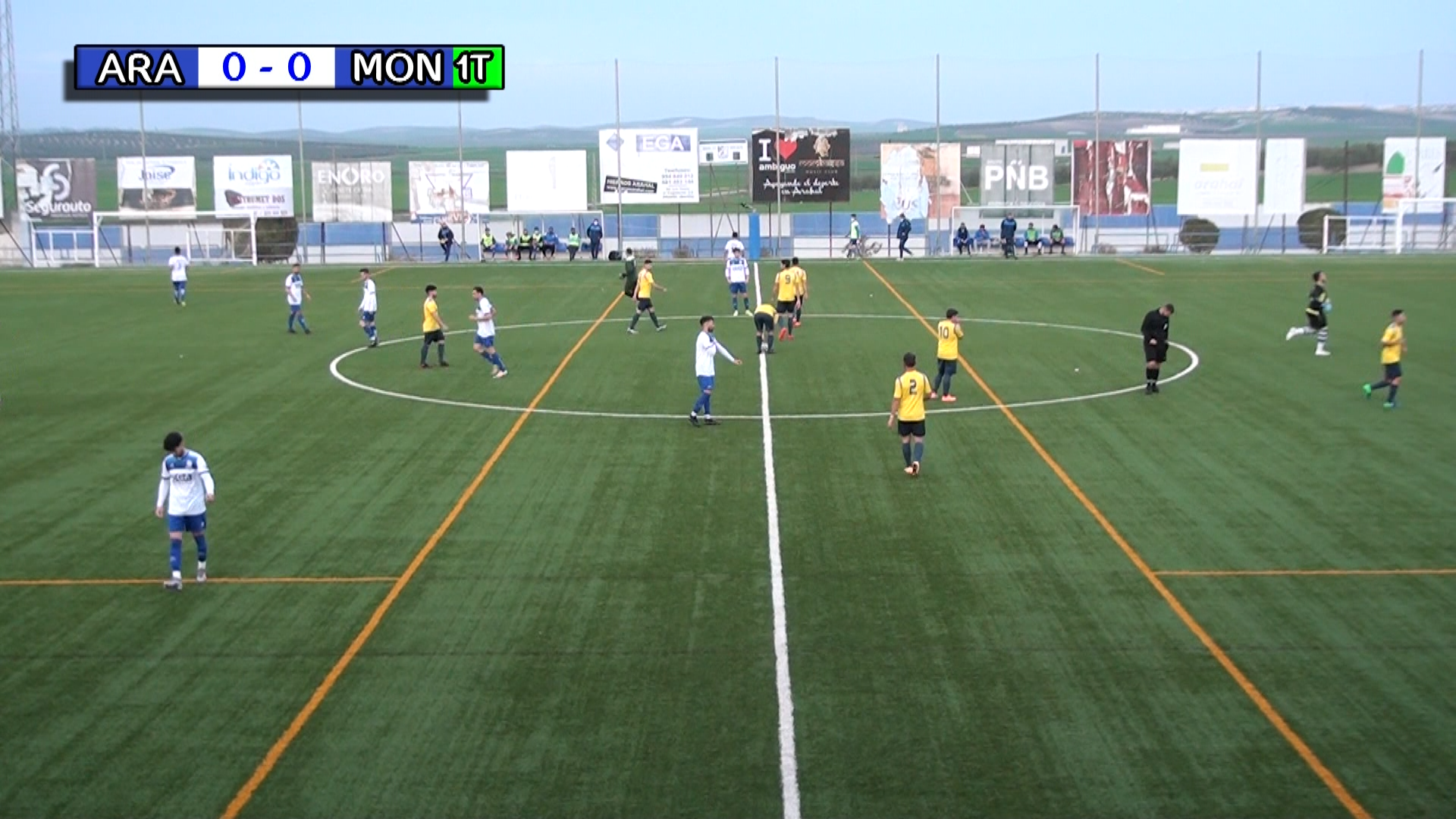 Fútbol: CD Arahal vs CD Montellano 2021