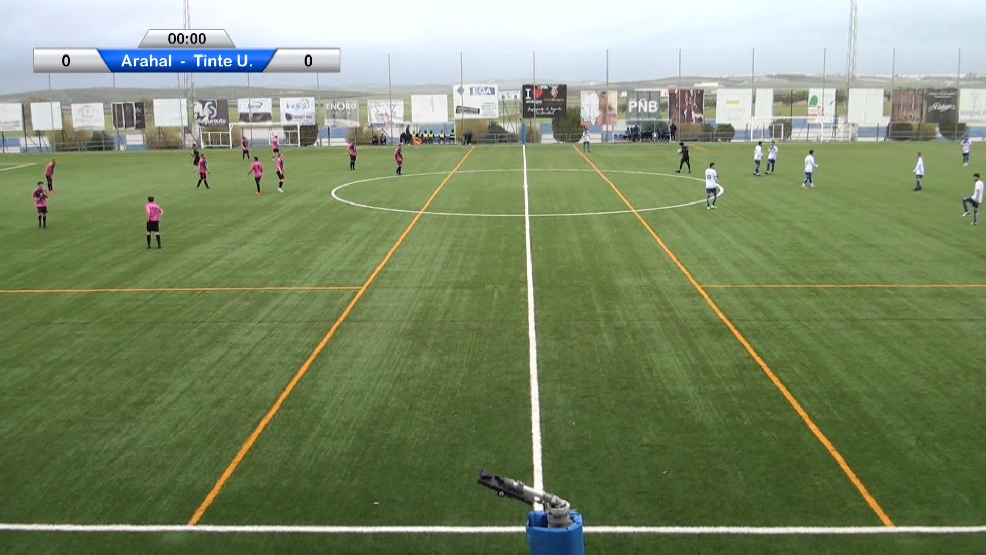 Fútbol CD Arahal vs CD Tinte de Utrera 2020