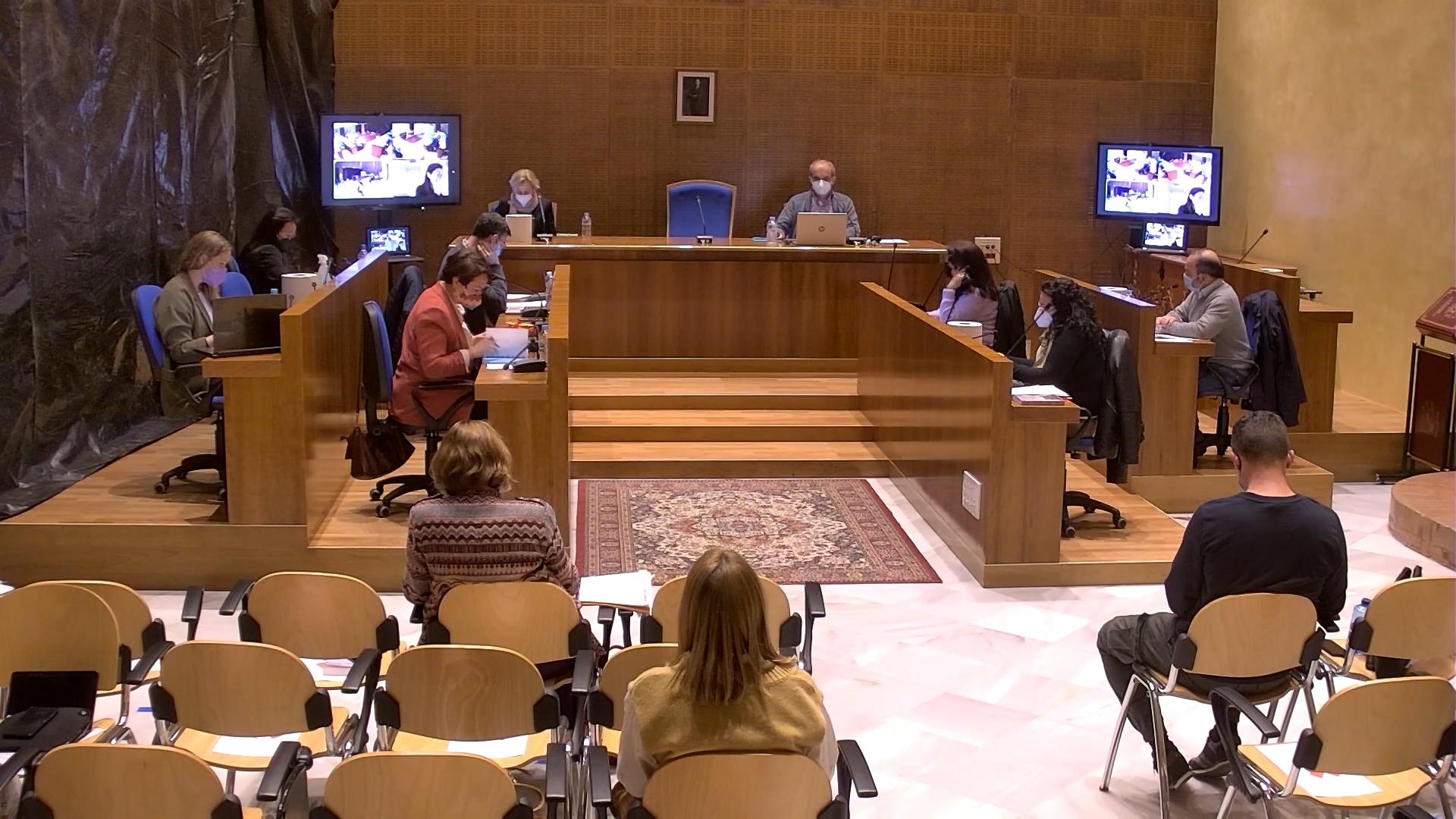 Pleno ordinario de Arahal marzo 2021