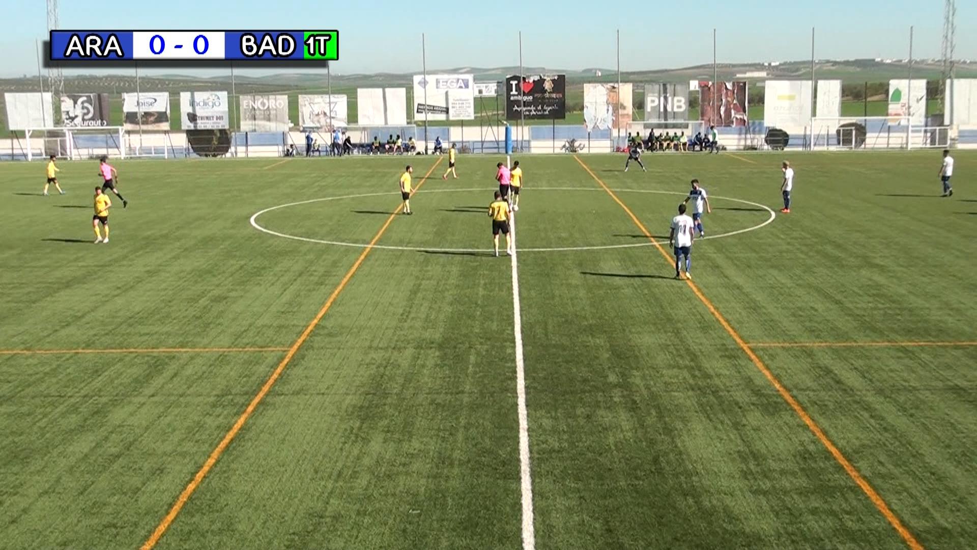 Fútbol CD Arahal vs Badolatosa 2021