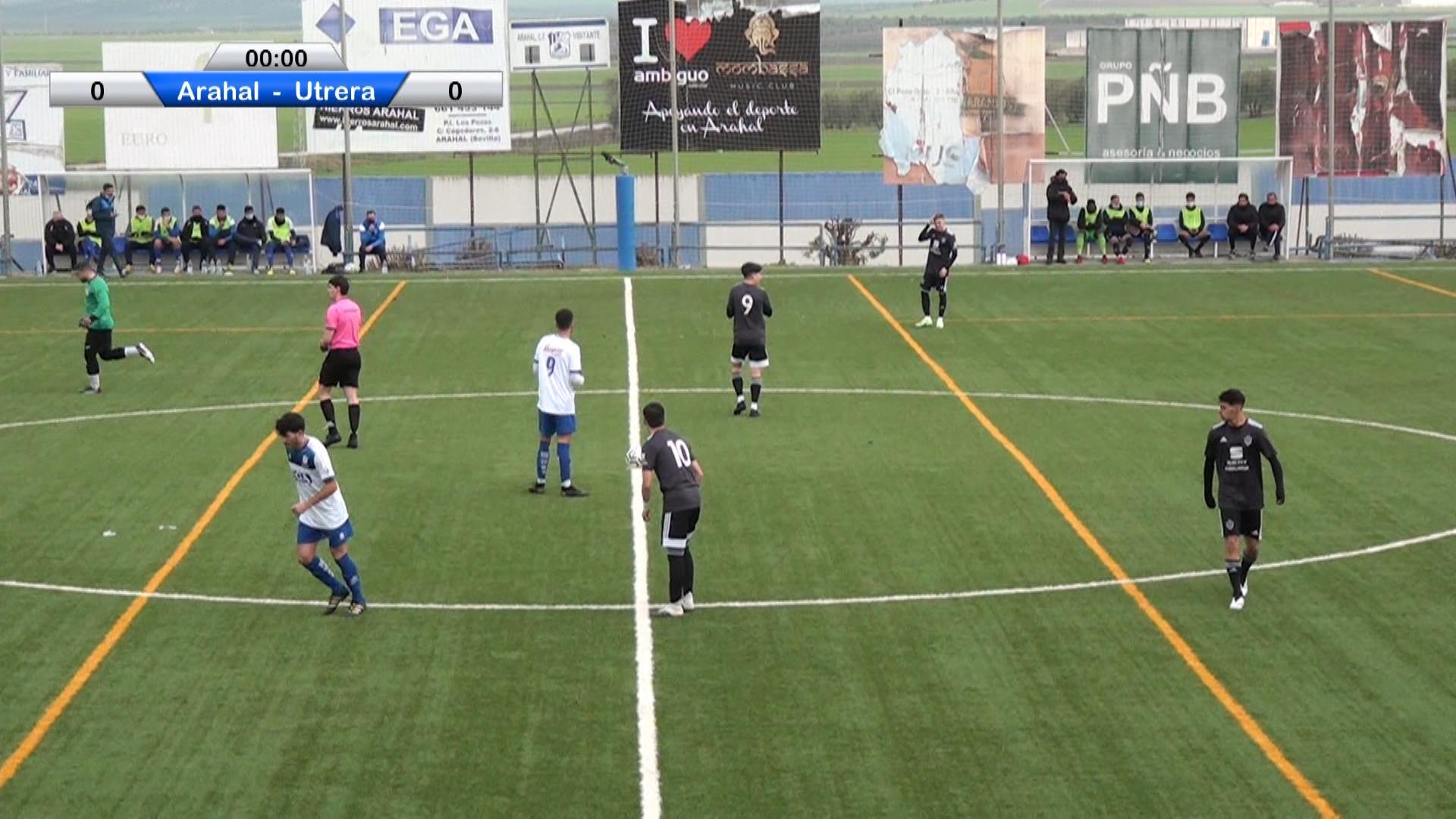 Futbol CD Arahal vs Utrera B 2021