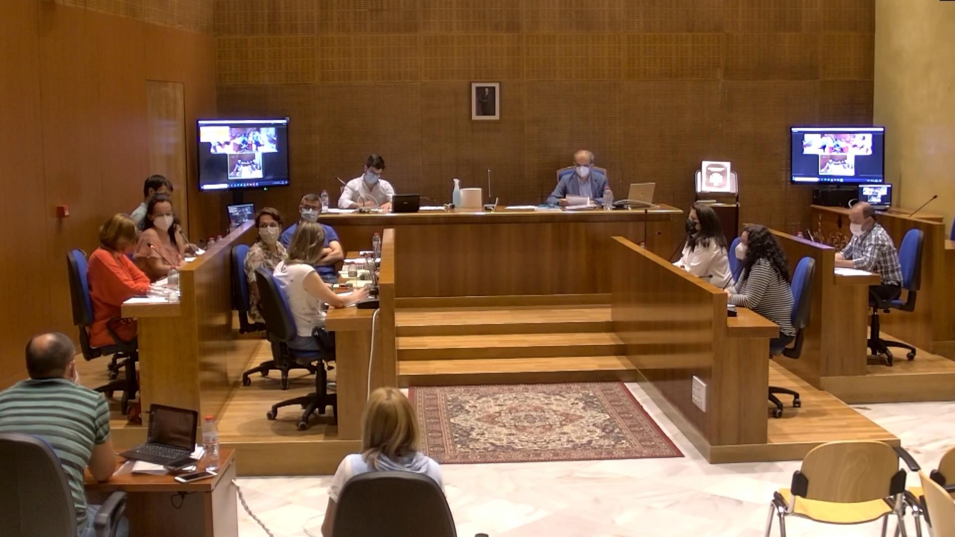 Pleno Municipal Extraordinario 10 junio 2021