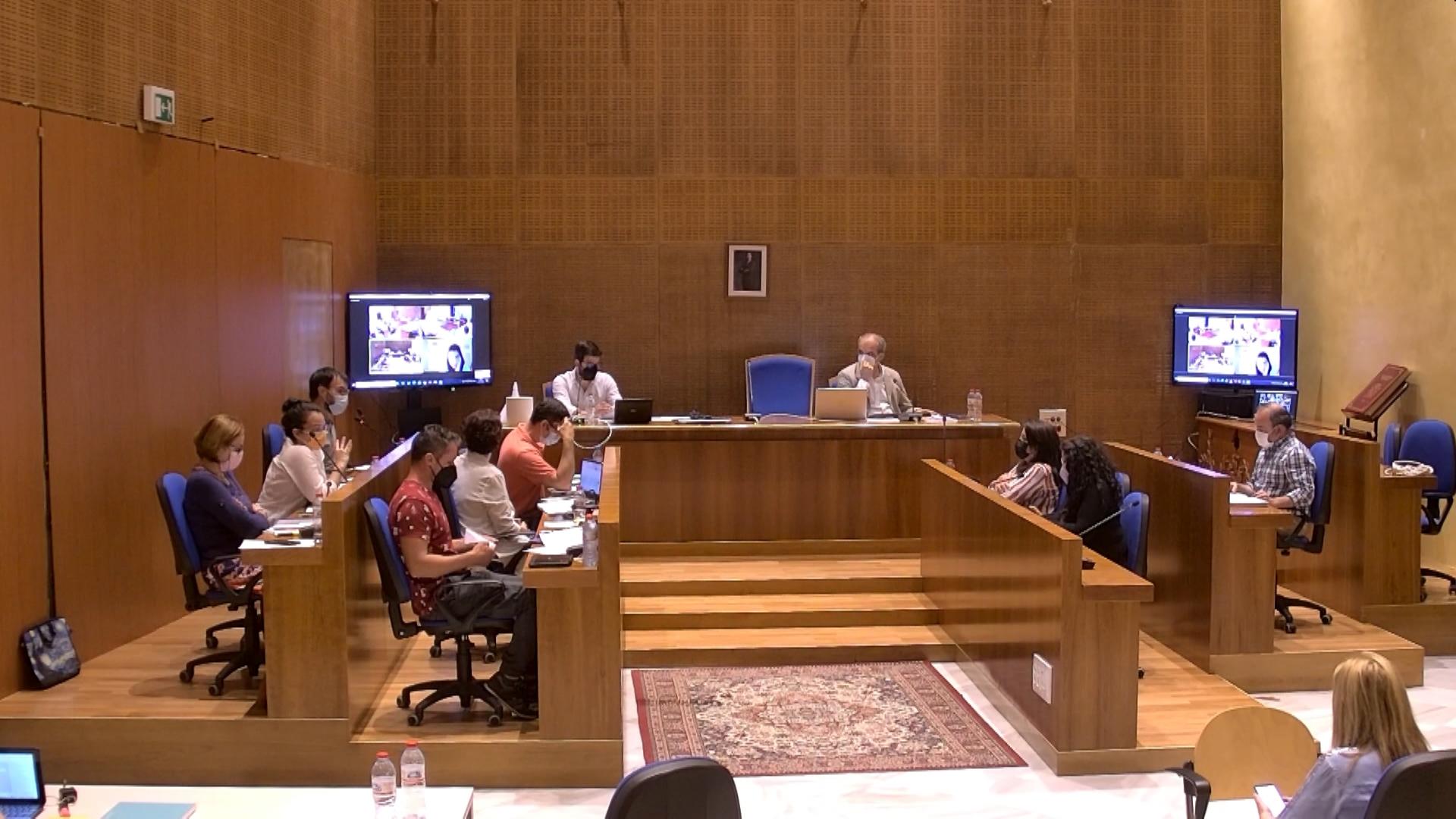 Pleno Municipal Ordinario de mayo 2021 1ª parte