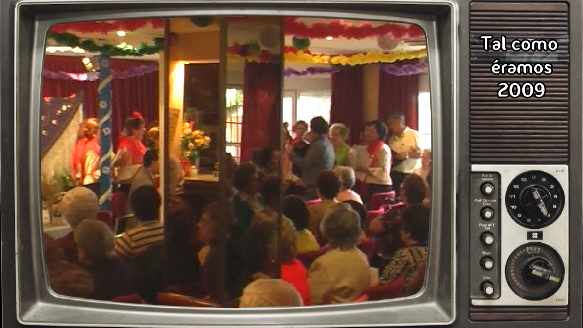Tal como éramos – Misa Cruz de Mayo Hogar del pensionista 2009
