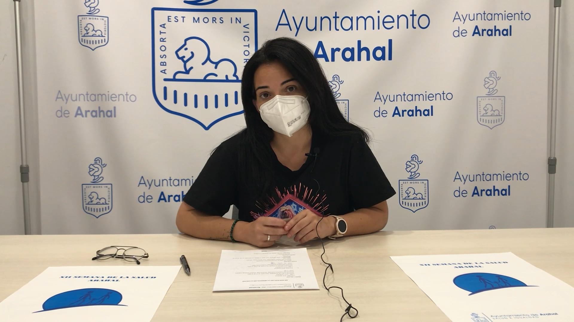 Presentación Semana de la Salud de Arahal 2021