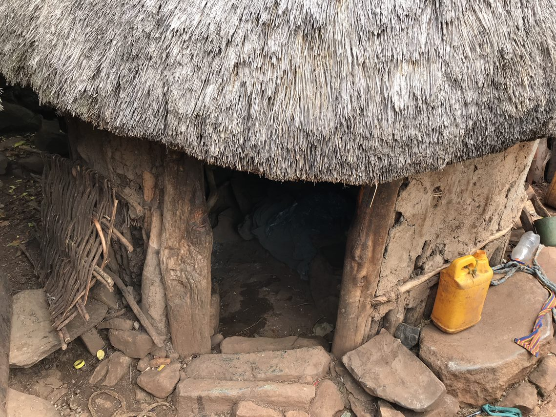 Konso tribal hut