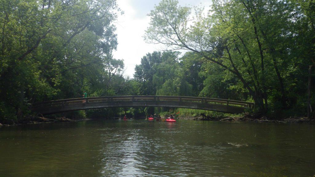 Kayaking on Dupage