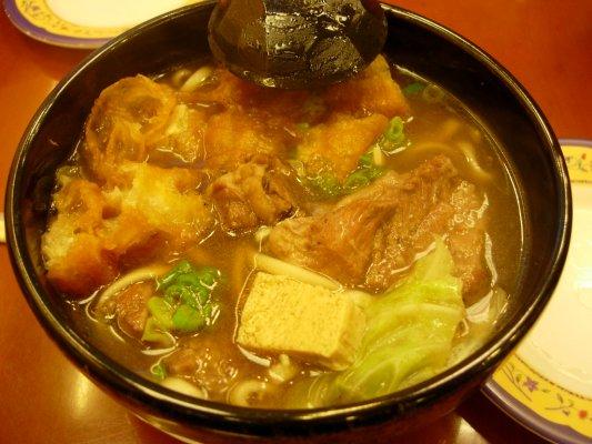 肉骨茶麵~小碗~$75大洋~