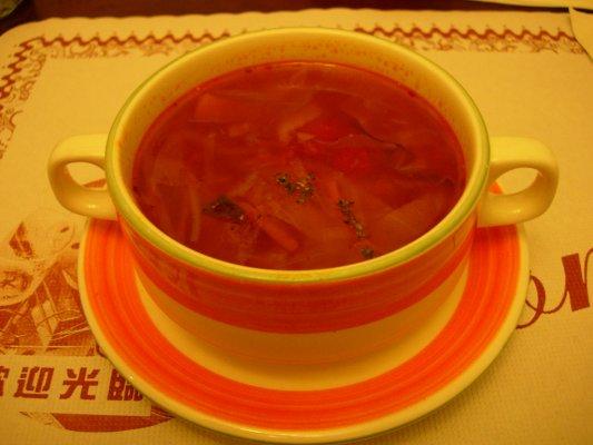 番茄蔬菜濃湯~