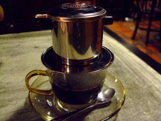 『越南咖啡』~單點$80大洋~