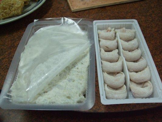 花枝漿和魚餃~