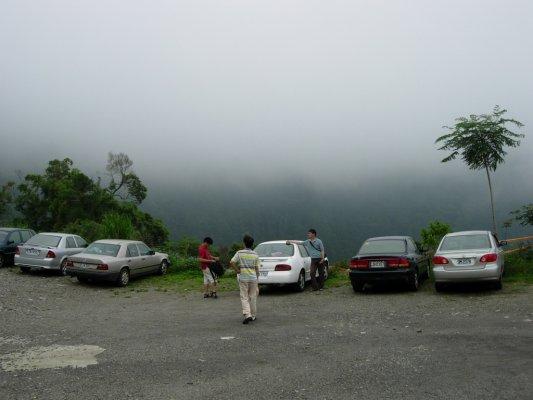 三點而已~開始起大霧~