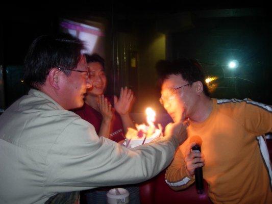 許了一個大家Allpass的生日願望~